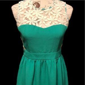 Altar'd State Green Mini Dress